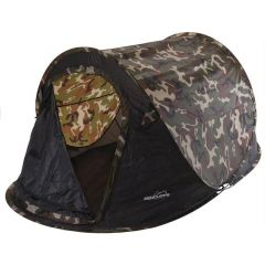 Redcliffs Pop Up Tent 220cm x 120cm - Camouflage