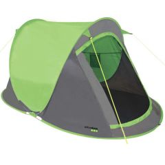 Yellowstone Fast Pitch 2 Man Pop Up Tent - Lime Green