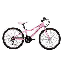 "Tiger Angel 24"" Girls Mountain Bike - Pink"