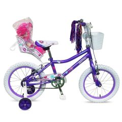 "Tiger Blossom 12"" Wheel Girls Bike"