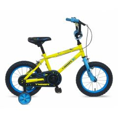 "Tiger Frontier Boys Bike Yellow - 14"" Wheel"