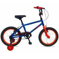 "Tiger Frontier Boys Bike Blue - 18"" Wheel"