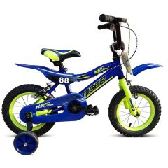 "Tiger Moto 88 Blue Boys Bike - 16"" Wheel"