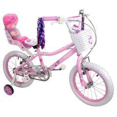 """Tiger Princess Girls Bike Pink - 18"""" Wheel"""