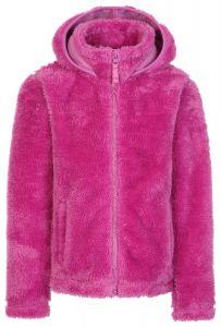 Trespass Violetta Fur Hoodie Deep Pink