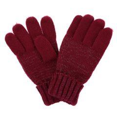 Regatta Luminosity Knitted Gloves - Raspberry