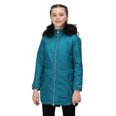 Regatta Abbetina Waterproof Kids' Parka Jacket - Gulfstream