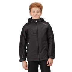 Regatta Highton Junior Padded Jacket - Ash/Black
