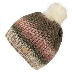 Regatta Frost V Knitted Hat - Vanilla