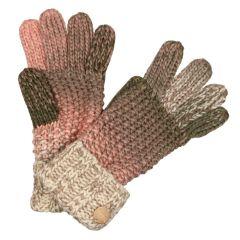 Regatta Frosty Knitted Gloves - Light Vanilla