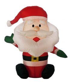 Festive Inflatable Santa Claus - 80cm