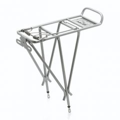 XLC Bike Luggage Carrier Pannier Rack Silver