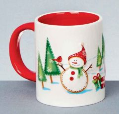 17cm Santa & Friends Mug