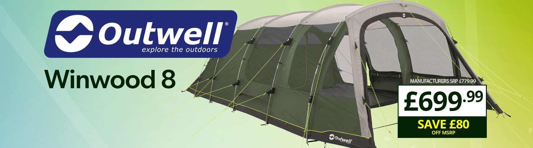 Outwell Winwood 8 Tent